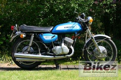 1971 Kawasaki 500 H 1 Mach III