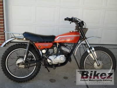 1972 Kawasaki 100 G4TR specifications and pictures