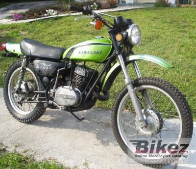 1972 Kawasaki 250 F 11 specifications and pictures