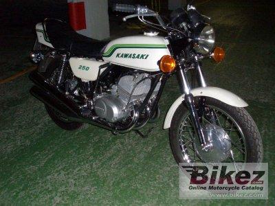 1972 Kawasaki 250 S 1 Mach I