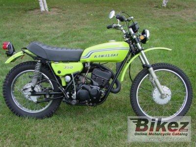 1972 Kawasaki 350 F 9