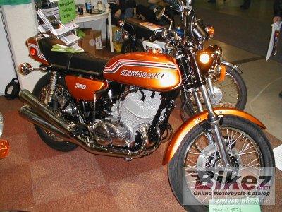 1972 Kawasaki H2 750 Mach IV (The Widowmaker) by musksnipe on ...
