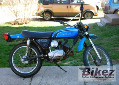 1973 kawasaki 100 g 7 t specifications and pictures rh bikez com Kawasaki 100Cc Kawasaki 1000