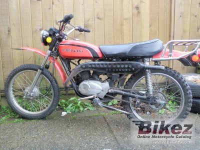 1973 kawasaki 100 g5 specifications and pictures