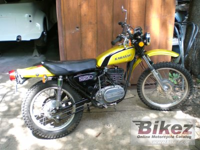1973 Kawasaki 250 F 11 specifications and pictures
