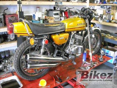 1973 Kawasaki 250 S 1 Mach I