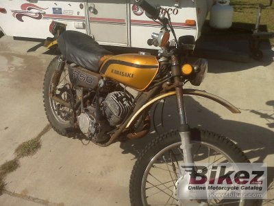 1973 kawasaki 350 f 9 specifications and pictures