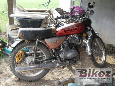 1974 kawasaki 100 g 7 t specifications and pictures rh bikez com Kawasaki 100Cc Kawasaki 110