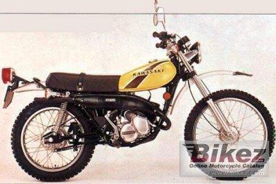 1974 Kawasaki 125 KS