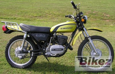 1974 Kawasaki 250 F 11 specifications and pictures