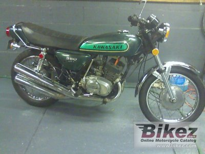 1974 Kawasaki 250 S 1 Mach I specifications and pictures
