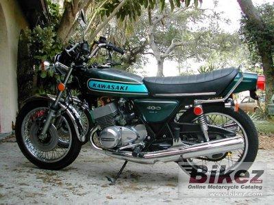 1974 Kawasaki 400 S 3 Mach II