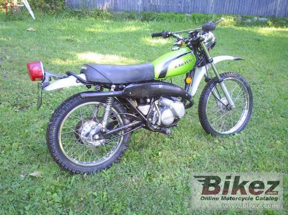 1974 Kawasaki 125 KS photo