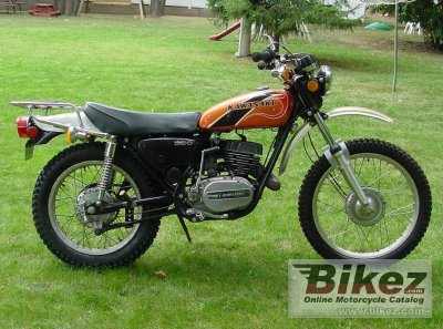 1975 Kawasaki F-11 250B specifications and pictures