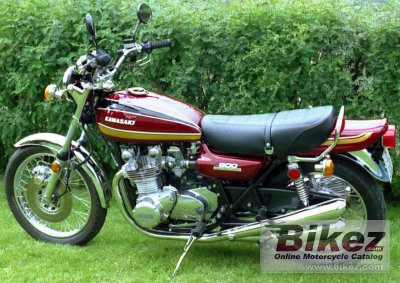 1975 Kawasaki Z 900 specifications and pictures