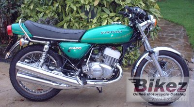 1976 Kawasaki KH 400 specifications and pictures