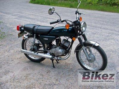 1976 Kawasaki KH100-B7