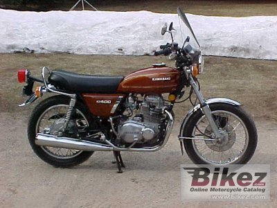 1976 Kawasaki Z 400 specifications and pictures