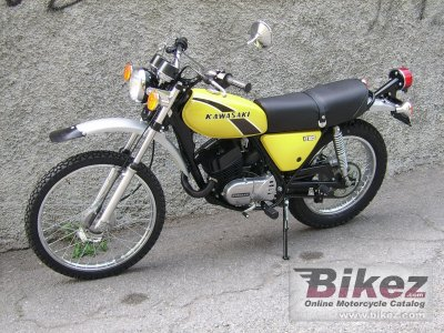 1977 Kawasaki KE 125