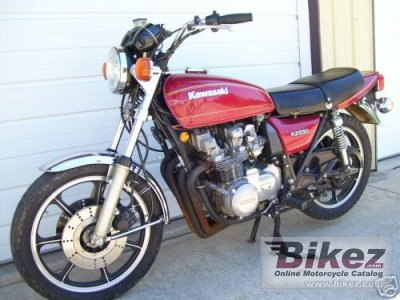 1977 Kawasaki KZ 650 specifications and pictures