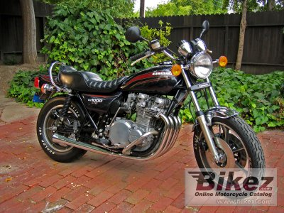 1977 Kawasaki KZ1000 LTD specifications and pictures
