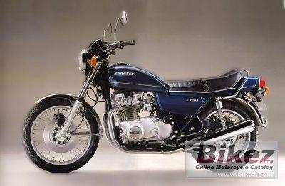 1977 Kawasaki KZ750