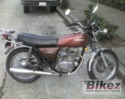 1978 Kawasaki KZ200A photo