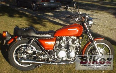 1978 Kawasaki 650 D - 650 SR specifications and pictures