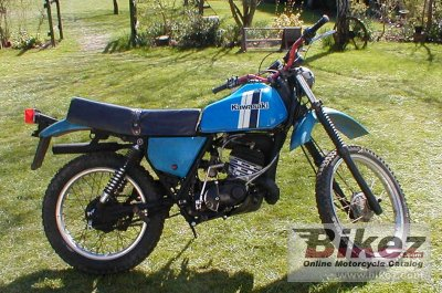 1979 Kawasaki KE 175 specifications and pictures