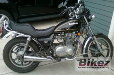1979 Kawasaki KZ 400 LTD specifications and pictures