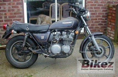 1979 Kawasaki Z 650 SR specifications and pictures