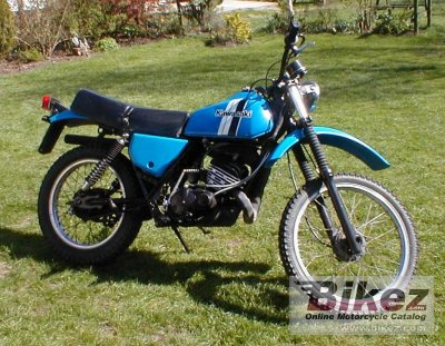 1980 Kawasaki KE 175 specifications and pictures