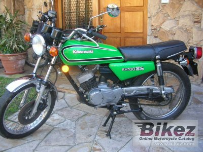 1980 Kawasaki KH 125 specifications and pictures