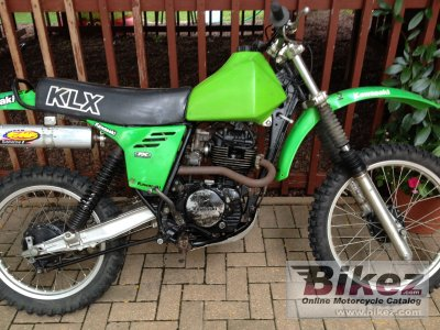 1980 Kawasaki KLX 250 specifications and pictures