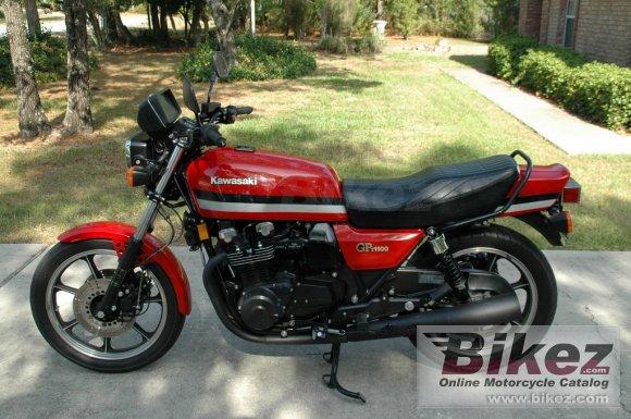1981 Kawasaki GPZ 1100 F 1