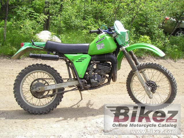 Big  kdx 175 picture and wallpaper from Bikez.com
