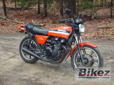 1981 Kawasaki GPZ 550 specifications and pictures