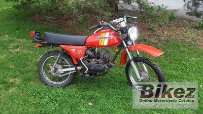 1981 Kawasaki KM 100