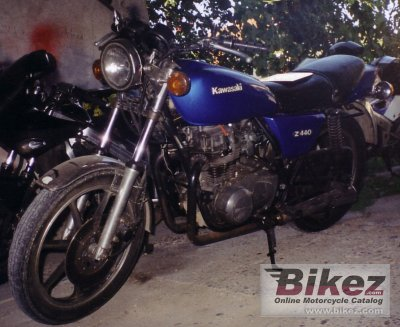 1981 Kawasaki Z 440 C specifications and pictures