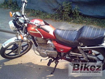1982 Kawasaki Z 250 LTD photo