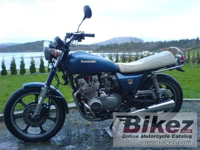 Big  z 650 sr d-4 picture and wallpaper from Bikez.com