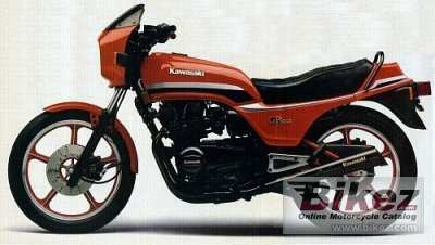 1982 Kawasaki GPZ 550 specifications and pictures