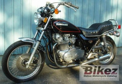1982 Kawasaki KZ 750 CSR (KZ 750 M1) specifications and pictures