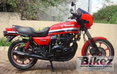 1982 Kawasaki Z 1100 GP specifications and pictures
