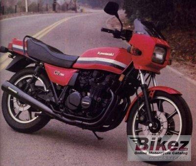 1982 Kawasaki Z 750 GT