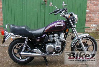 1982 Kawasaki Z550 LTD specifications and pictures