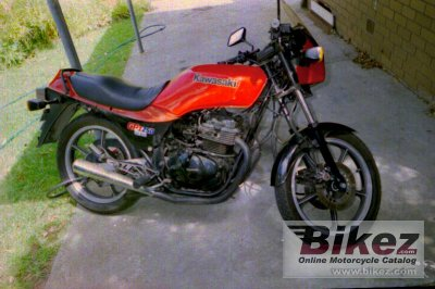 1983 Kawasaki GPZ 250 Belt Drive photo