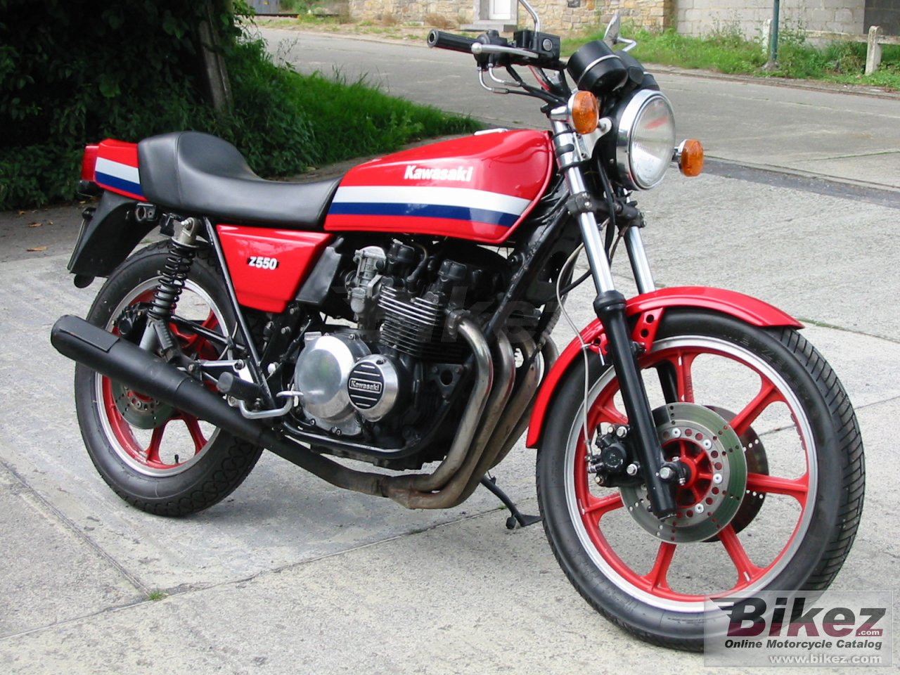 Big  z 550 sport picture and wallpaper from Bikez.com