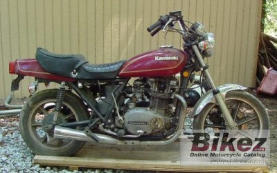 1983 Kawasaki Z 750 LTD Twin photo