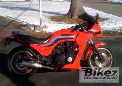 1983 Kawasaki GPZ 1100 (reduced effect) photo